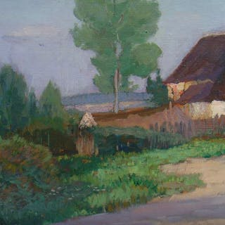 Elisabeth Andrae (1876-1945) - Häuser auf Hiddensee