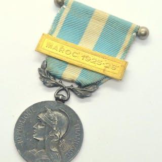 Frankreich - Medal Coloniale - Maroc 1925-26 - Medallie