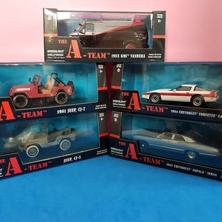 Greenlight - 1:43 - 5 x Hollywood - A-TEAM