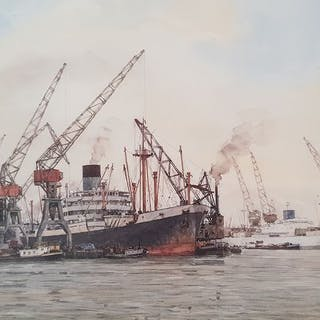 Herman Bosboom (1920-1993) - Haven Rotterdam