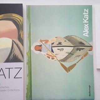 Alex Katz - Lot with 3 books - 1975/2007