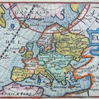 Europa; Bertius - Europa - 1581-1600