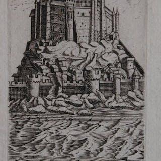Frankreich, Mont St. Michel; N.N. - Le Mont St. Michel - 1661-1680