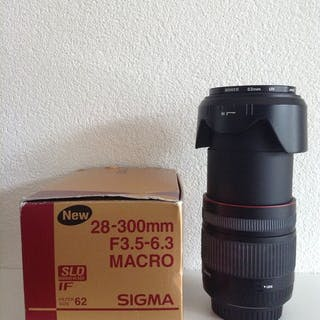 Sigma Lens DG 28-300mm f/3.5-6.3 Macro for Canon AF