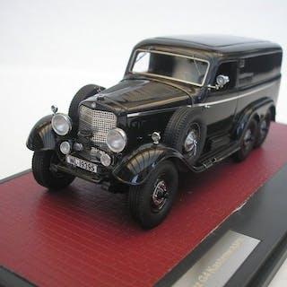 Matrix - 1:43 - Mercedes Benz G4 Geländewagen (W31) 1939 - Schwarz - 408 Stk