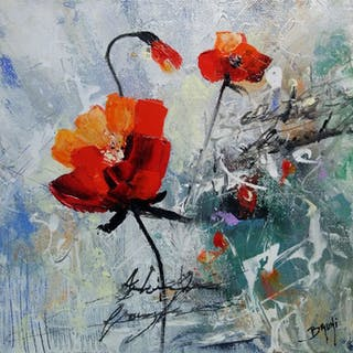 BRUNI - Red love poppies