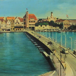 C Steen (20e eeuw) - Stadsgezicht