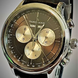 """Maurice Lacroix - """"NO RESERVE PRICE"""" Triple Date..."""