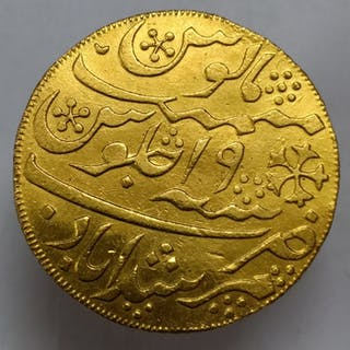 India British - 1 Mohur Mohur AH 1202 CE 1788 - Gold, Gold .996/1000