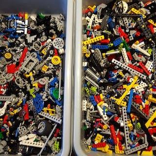 LEGO - Assorti - +/- 5,2 kg Technisch Lego - 1980-1989
