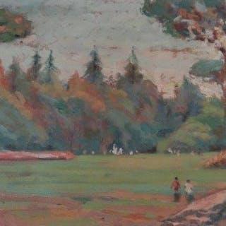 Franco Pansini Duprè (Buenos Aires 1893 - Salerno 1976) - Paesaggio
