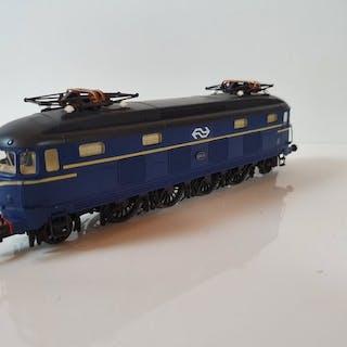 Roco H0 - 43615 - Elektrolokomotive - Serie 1000 in blau mit Logo - NS