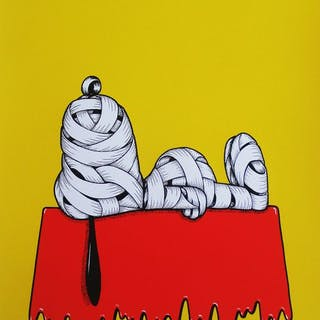 Otto Schade - Snoopy Ribboned
