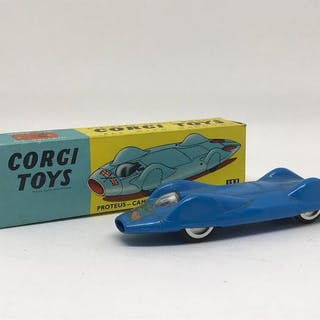 Corgi - 1:43 - Proteus-Campbell Bluebird Record Car N°153A