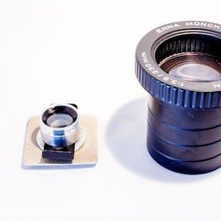 Enna Trigmat 1:4,5 9cm, Ennagon 1:3,5 / 230 mm, Tele Ennalyt 1:2,8/135mm