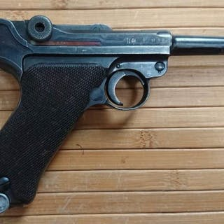 Germany - code 42 Mauser - Luger P.08 - Autoloading - 100% number-equal gun