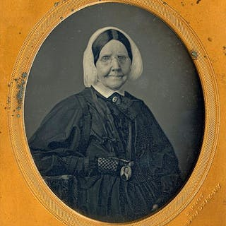 Samuel Root (1819-1889) - Old lady, ca 1850's