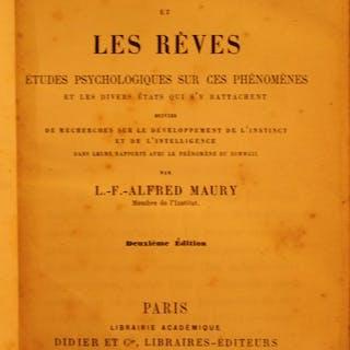 L.F .Alfred De Maury - Le Sommeil et les Rêves - 1862
