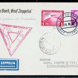 Deutsches Reich 1933 - Graf Zeppelin Chicagofahrt