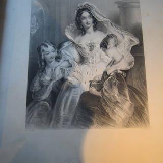 L'Ecrin. Recueuil de douze gravures Anglaises...