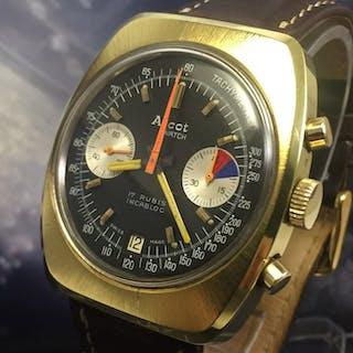 "Ascot Watch - Chronograph Valjoux 7734 - ""NO RESERVE PRICE"" - Men - 1970-1979"