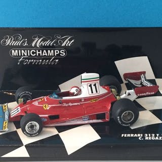 MiniChamps - 1:43 - F1 Ferrari 312 T 1975 C. Regazzoni - N. modello: 430750011