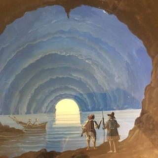 Anonimo- la grotta azzurra a Capri