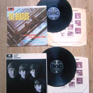 Beatles - 2 Reissues (70ties) from the 2 First records of...