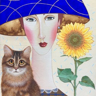 Darya Koltsova -Natalie and the Cat
