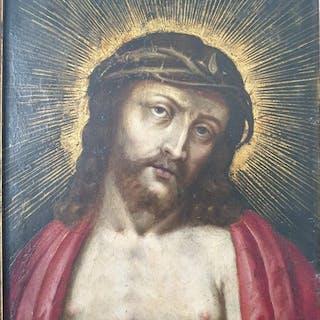 Ecce Homo (near Hendrick De Clerck) (1) - Copper - 16th century