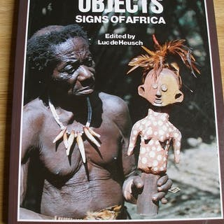 libro Oggetti segni dell'Africa (1) - Carta - Africa