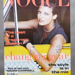 Conde Nast Publications - Vogue September, Linda Evangelista - 1992