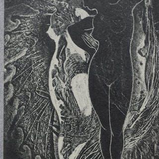Max Ernst(1891-1976) - Man Ray (1890-1976) - Mr. Knife Miss Fork