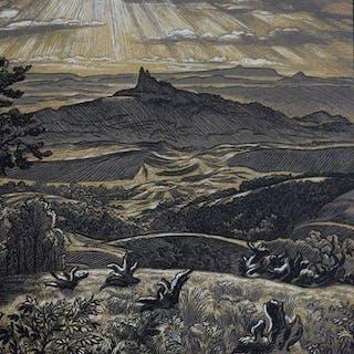 Karel Vik (1883-1964) - Les Ruines Trosky - Tsjechië