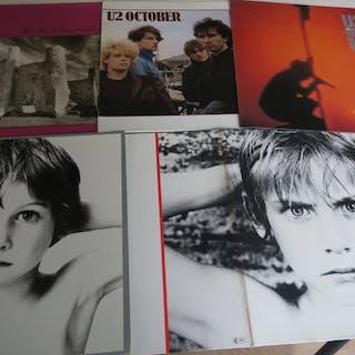 U2 - Nice Lot with the first 5 U2 Albums - Diverse Titel - LP's - 1980/1983