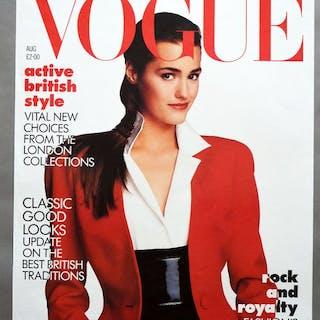 Conde Nast Publications - Vogue August, Yasmin Le Bon - 1987