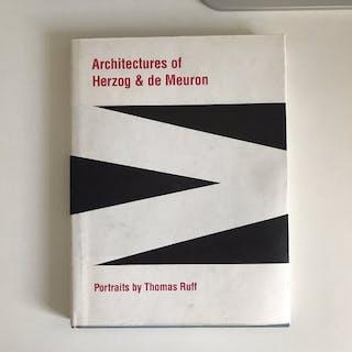 Signed; Thomas Ruff - Architectures of Herzog & de Meuron...