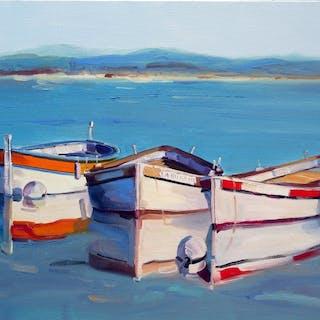 Christophe Gastaldi - Bateaux de pêche,port du Brusc (Var,France)