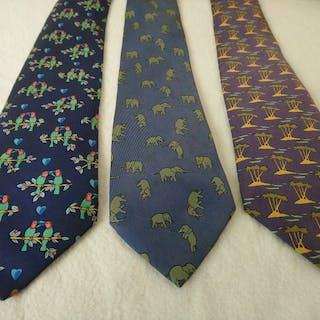 Hermès 3 Krawatten