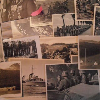 Germany - 42 propaganda cards with army parts of the Third Reich - Postcards