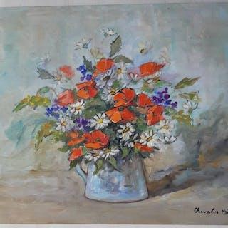Emile-Louis-Auguste Chevalier-Milo (1892-1973) - Fleurs des champs