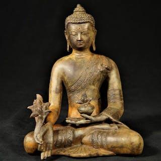 Skulptur - Bronze - Nepal - 21. Jahrhundert