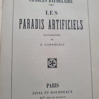 Charles Baudelaire, Jean-Georges Cornélius -Les Paradis Artificiels - 1933