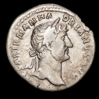 Römisches Reich - Denarius - Hadrian (117-138 A.D.) Rome - P M TR P COS III