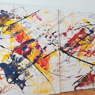 Luc Mora - Reves couleur ( Dyptique)