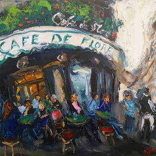 Ludovic Labbe - Café de Flore, Paris