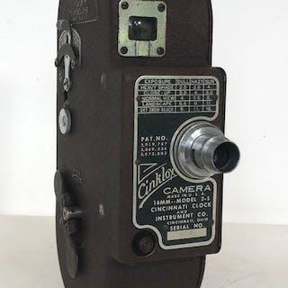 Cinklox 16mm filmcamera Model 3-S uit 1937