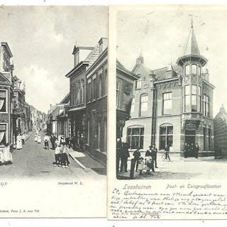 Cartoline Paesi e città Olanda Meridionale (86x) (Collezione) - 1900-1930