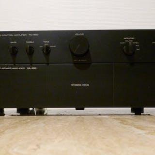 Rotel - RB 850 et RC 850 - Amplificateur principal, Préamplificateur