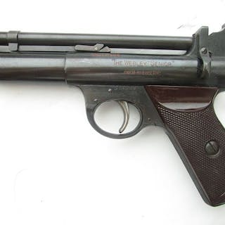 United Kingdom - Webley & Scott, Ltd. - Spring-Piston - Pistol - .22